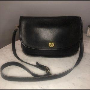 Vintage Coach Leather City Crossbody